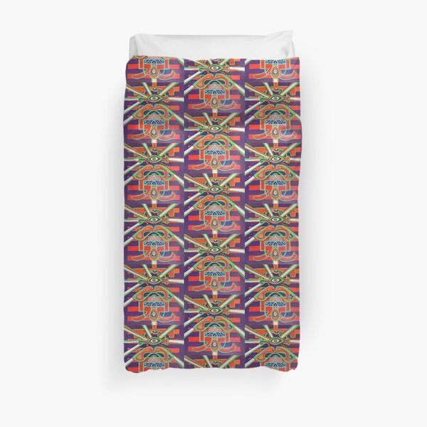 Hexagram 14: Ta Yu (Wealth) Duvet Cover