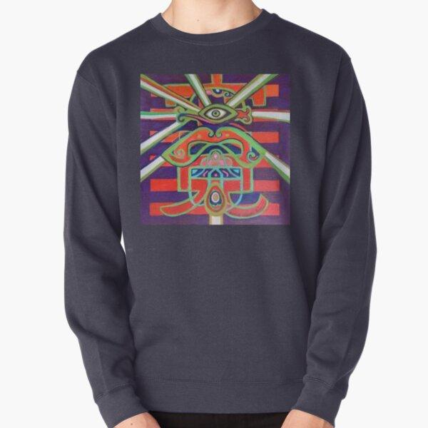 Hexagram 14: Ta Yu (Wealth) Pullover Sweatshirt