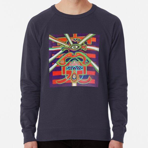 Hexagram 14: Ta Yu (Wealth) Lightweight Sweatshirt