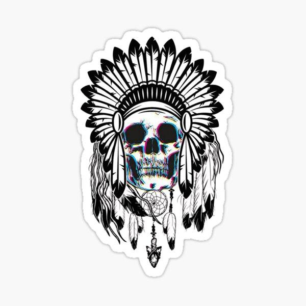 Skull Chief Sticker