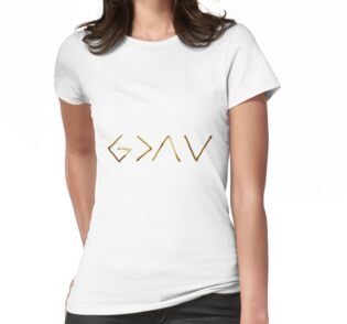 God Is Greater Than The Highs And The Lows Stickers By