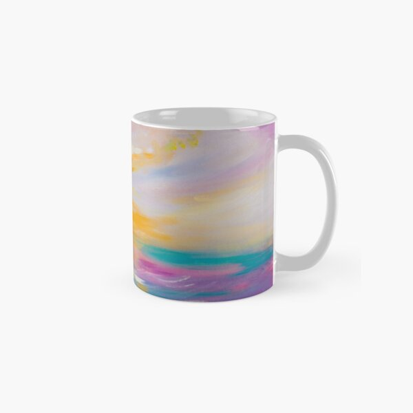 Pink Turquoise Pastel  Classic Mug