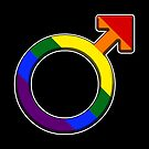 Pride Male Symbol by technoqueer