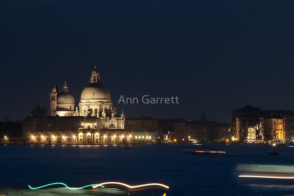Venice Waters by Ann Garrett