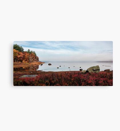 Fall -- Kezar Pond Canvas Print