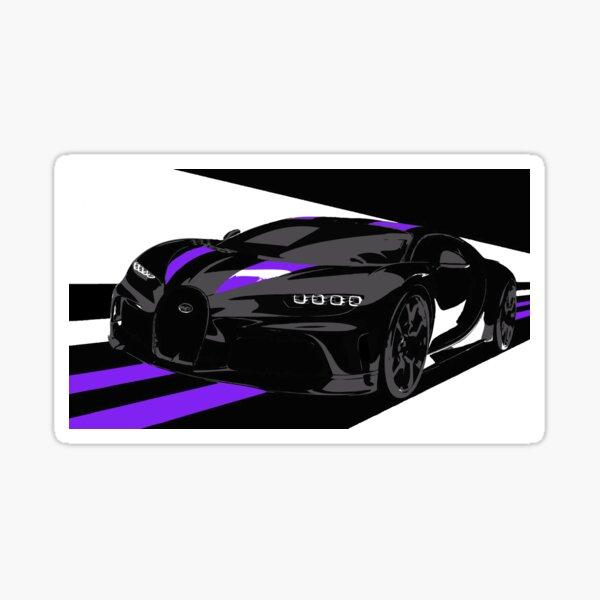 Bugatti Chiron Super Sport 300+ Glossy Sticker
