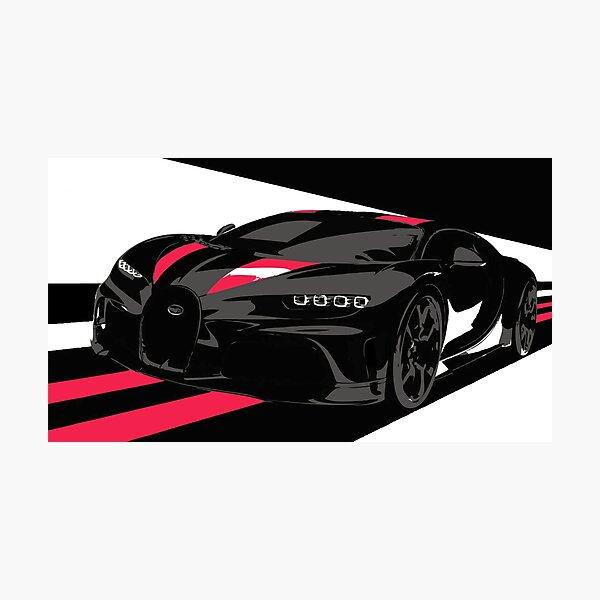 Bugatti Chiron Super Sport 300+ Photographic Print