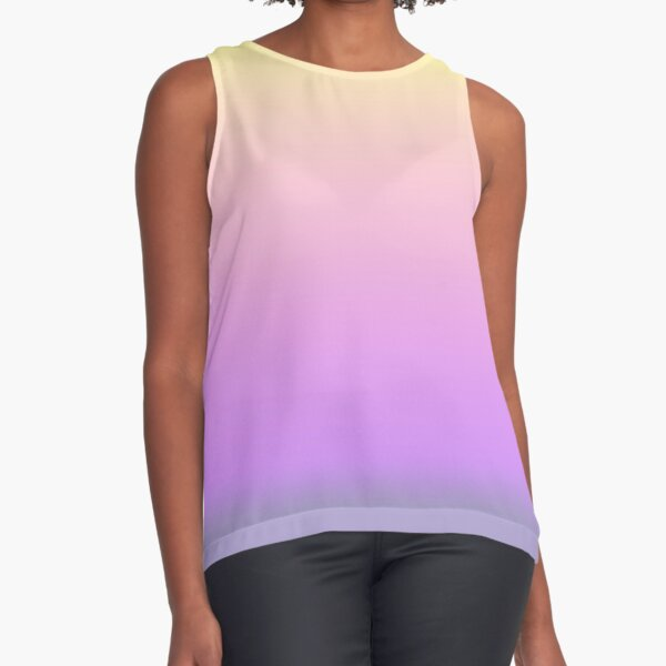 Ombre Space Queen Sleeveless Top