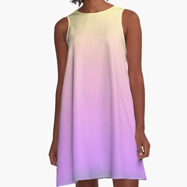 Ombre Space Queen A-Line Dress