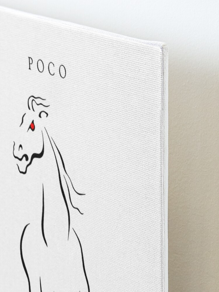 Alternate view of Poco: Legend Mounted Print