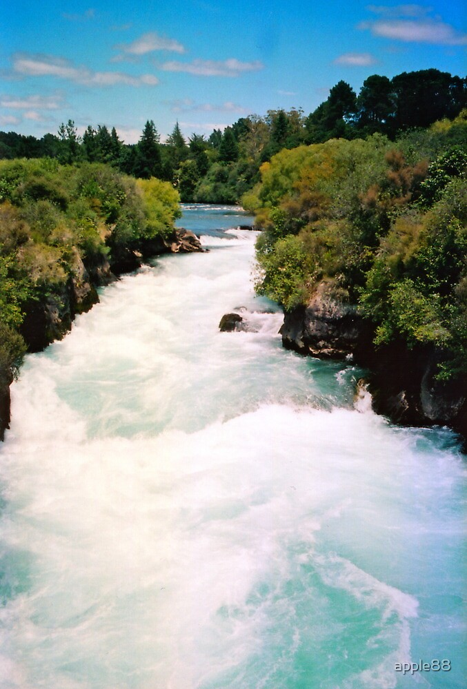 Haku Falls New Zealand by apple88