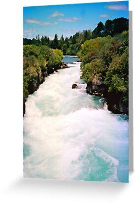 Haku Falls New Zealand by apple88