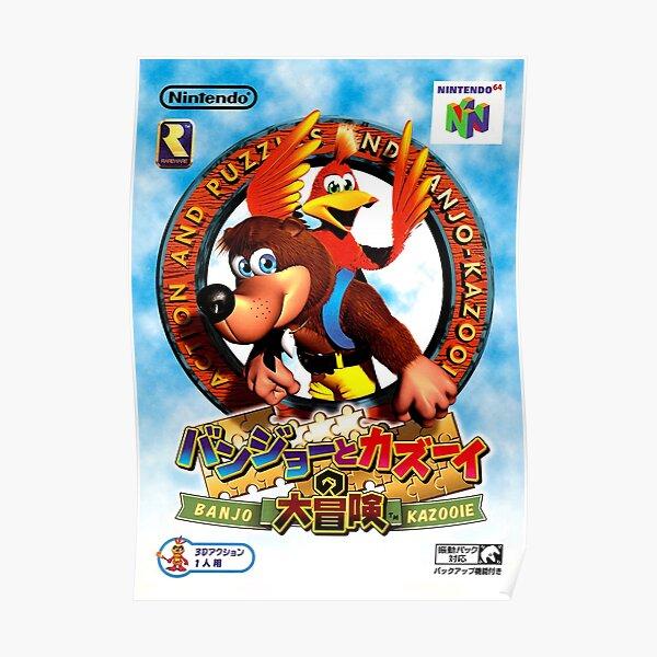 Banjo-Kazooie Japanese Promo Poster