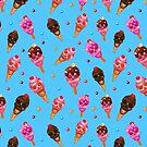 «calaveras de helado de halloween» de gossiprag