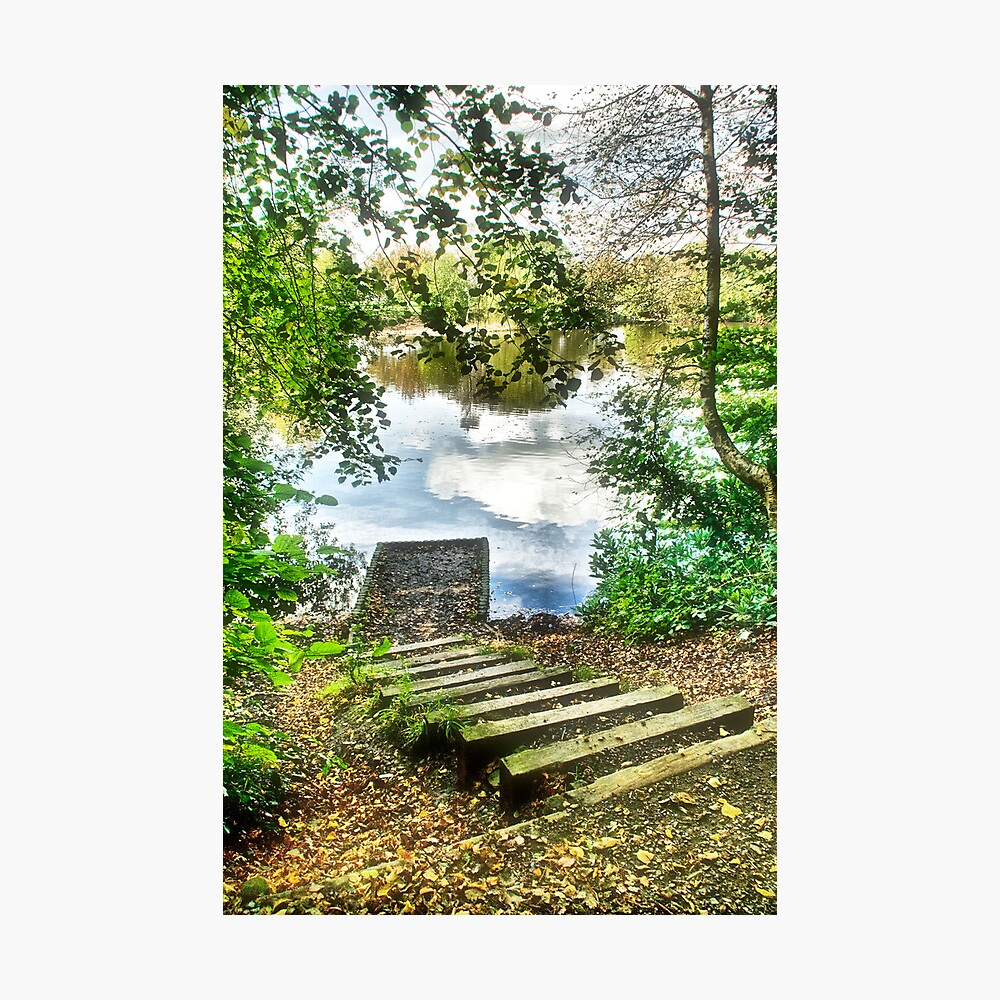 Secluded Landing Photographic Print