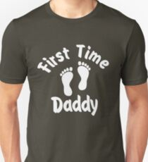 first time daddy Unisex T-Shirt