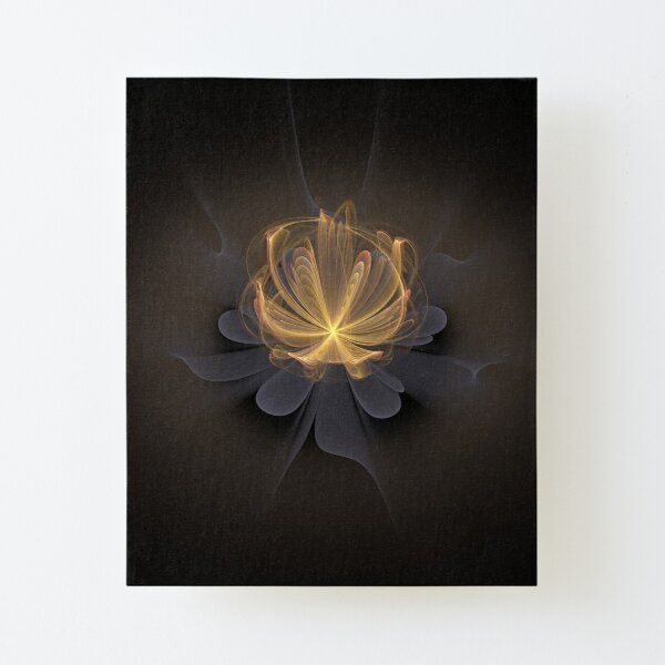 Lotus of Light Canvas Mounted Print