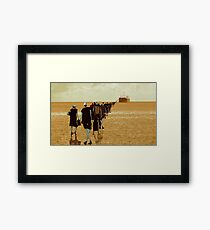 embarkation two Framed Print