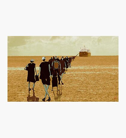 embarkation two Photographic Print