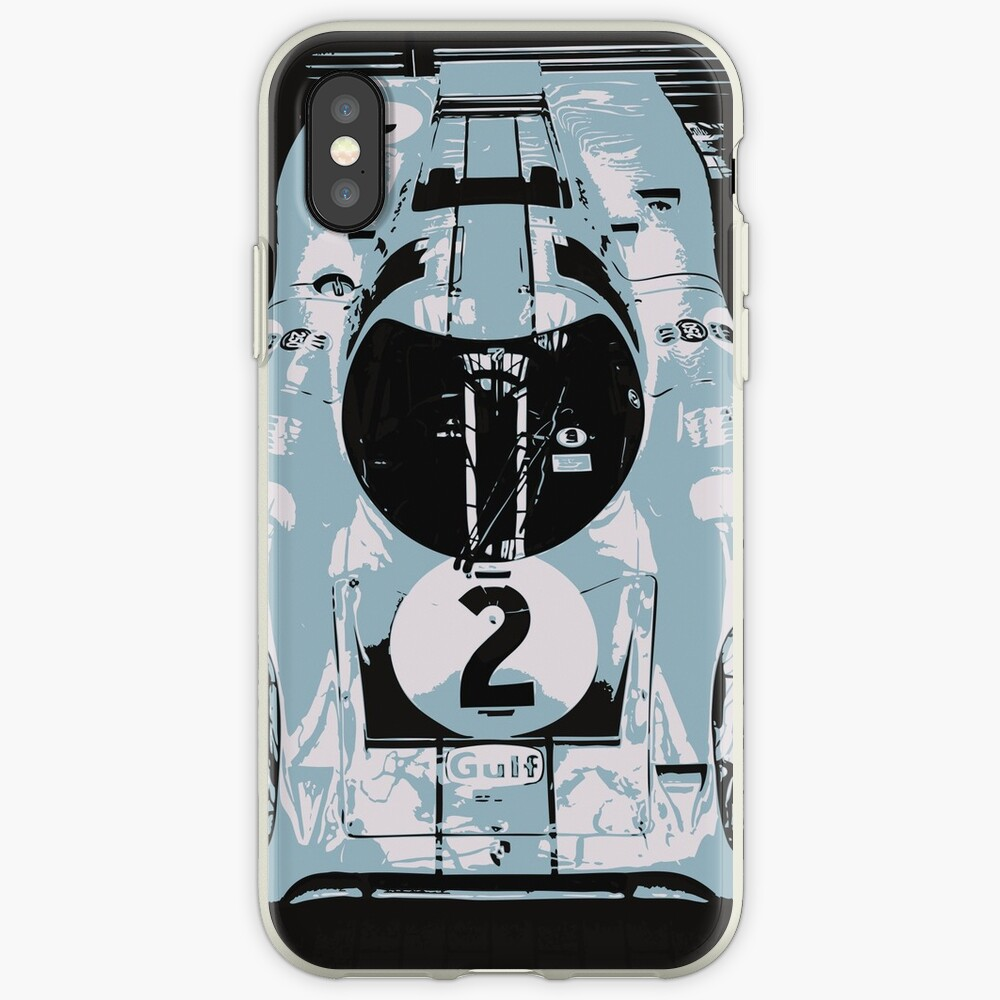 Porsche 917K - RACE CAR - LE MANS - MOTORSPORT iPhone Case & Cover