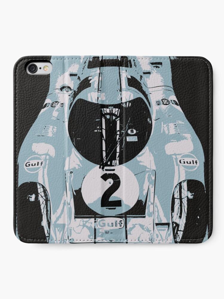 Alternate view of Porsche 917K - RACE CAR - LE MANS - MOTORSPORT iPhone Wallet