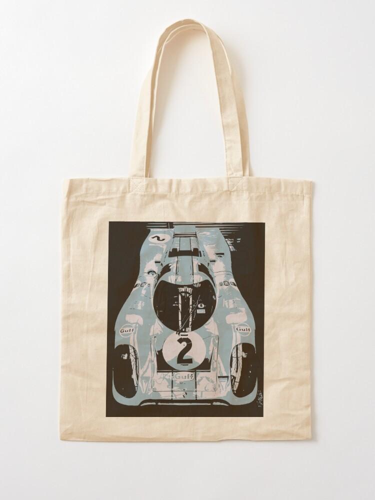 Alternate view of Porsche 917K - RACE CAR - LE MANS - MOTORSPORT Tote Bag