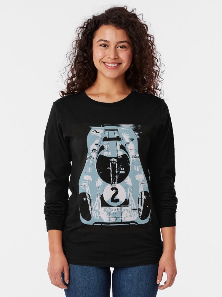 Alternate view of Porsche 917K - RACE CAR - LE MANS - MOTORSPORT Long Sleeve T-Shirt