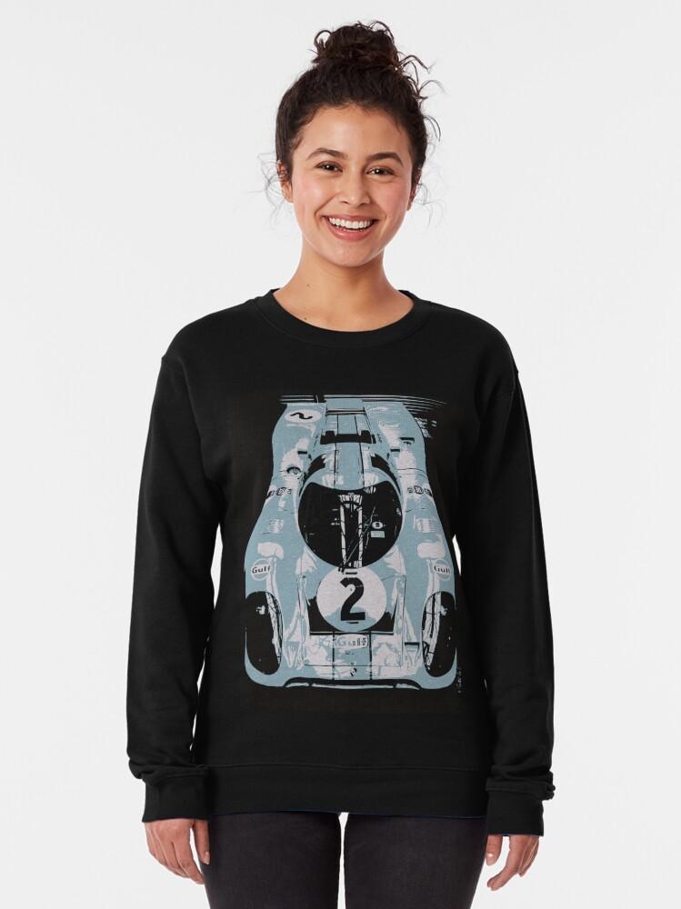 Alternate view of Porsche 917K - RACE CAR - LE MANS - MOTORSPORT Pullover Sweatshirt