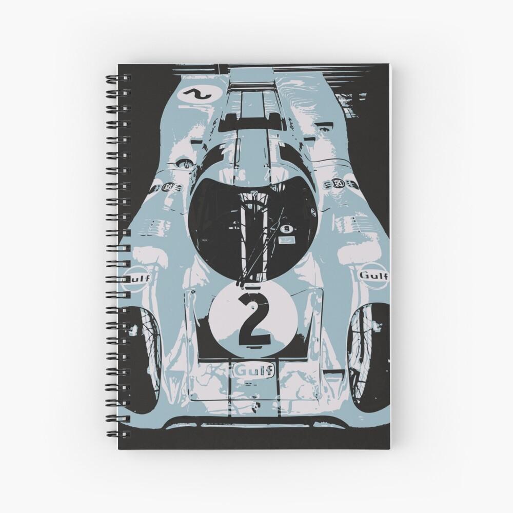Porsche 917K - RACE CAR - LE MANS - MOTORSPORT Spiral Notebook