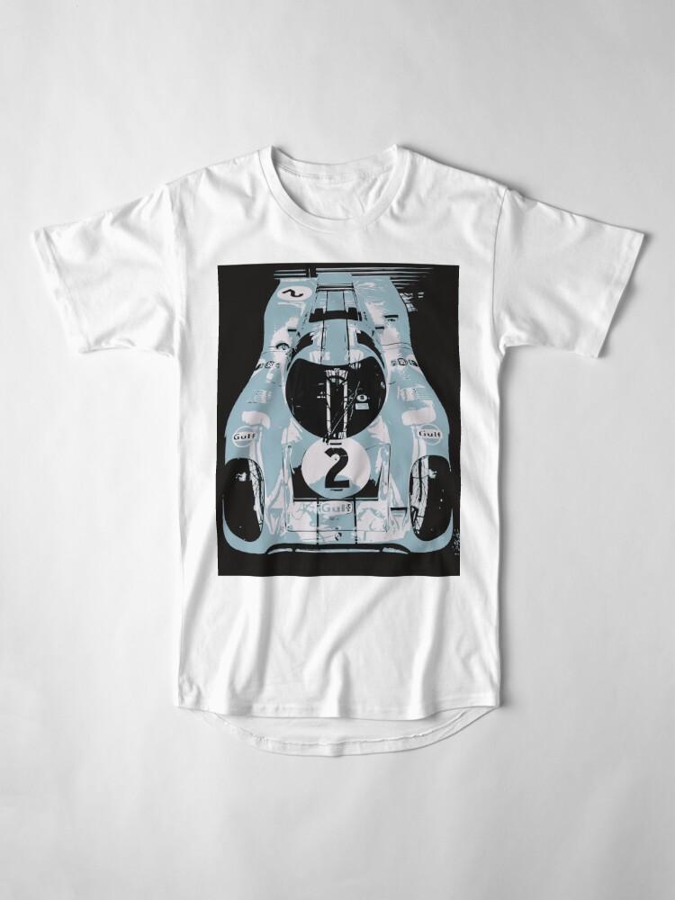 Alternate view of Porsche 917K - RACE CAR - LE MANS - MOTORSPORT Long T-Shirt