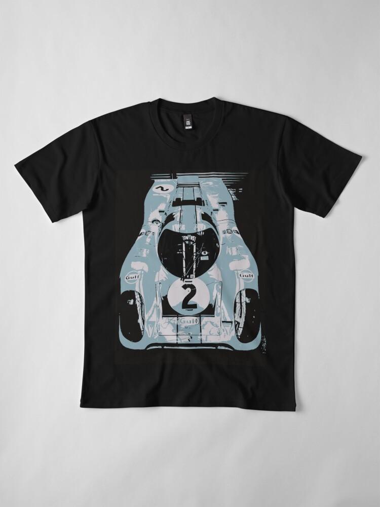Alternate view of Porsche 917K - RACE CAR - LE MANS - MOTORSPORT Premium T-Shirt
