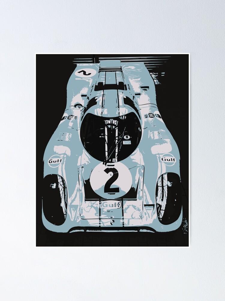 Alternate view of Porsche 917K - RACE CAR - LE MANS - MOTORSPORT Poster