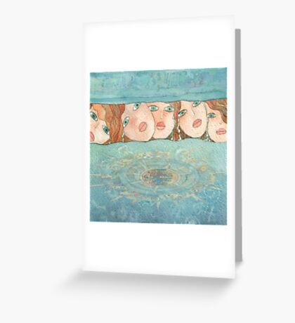 Mermaid  of the sea Greeting Card