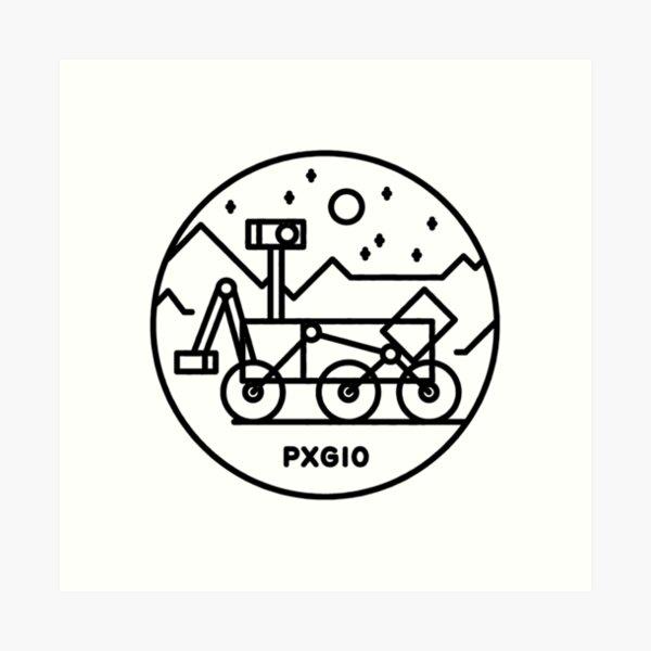 PXG10 Rover Art Print