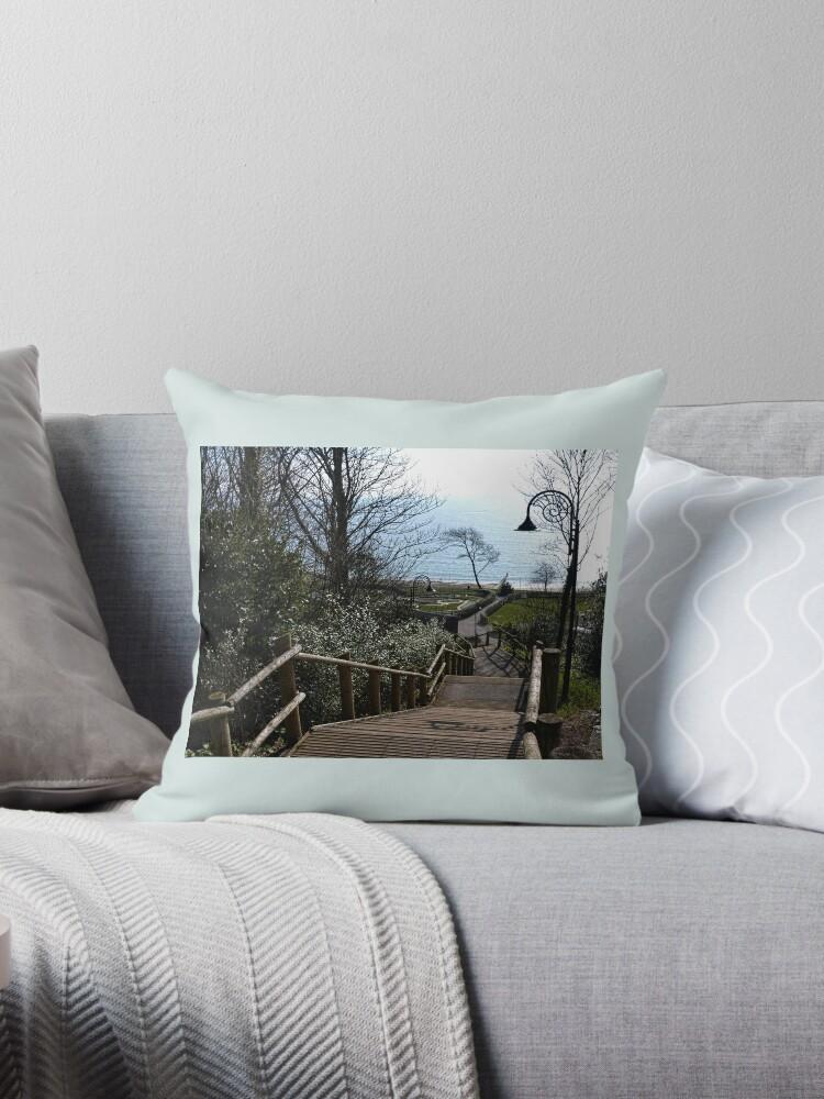 Even Harder Going Up -Lyme Gardens, Dorset UK by lynn carter