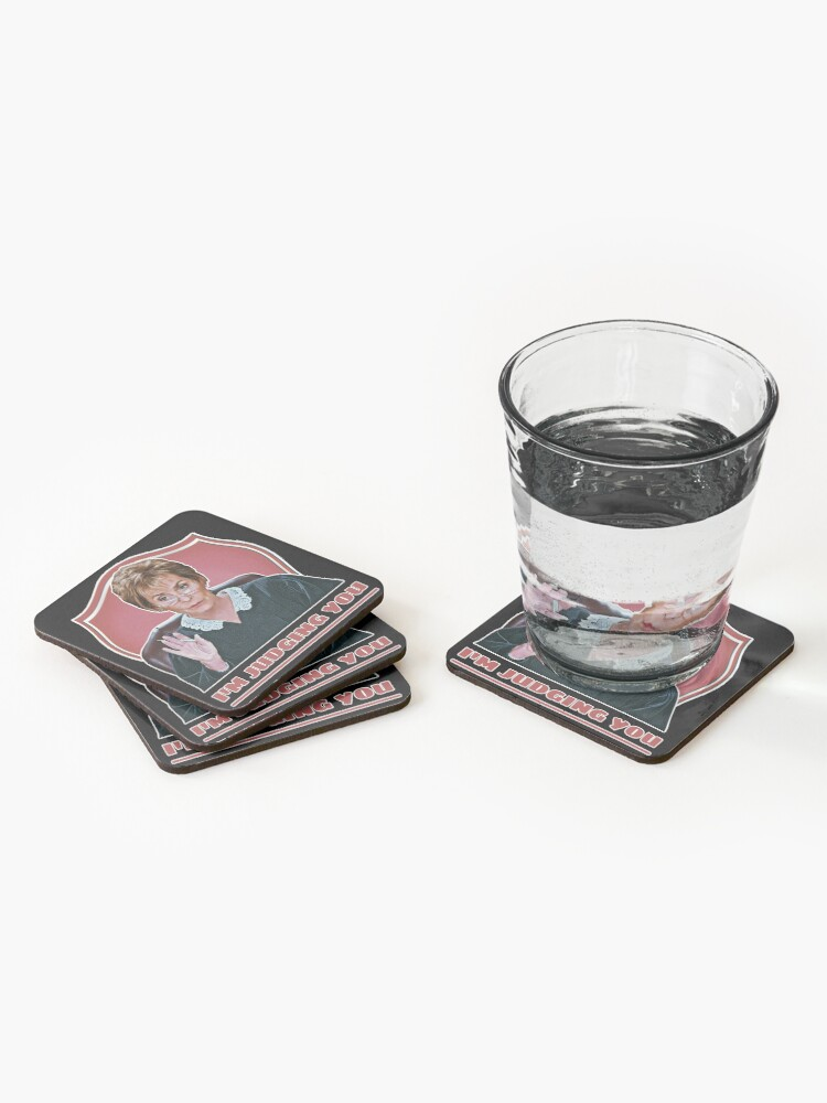 Alternate view of Judge Judy Coasters (Set of 4)
