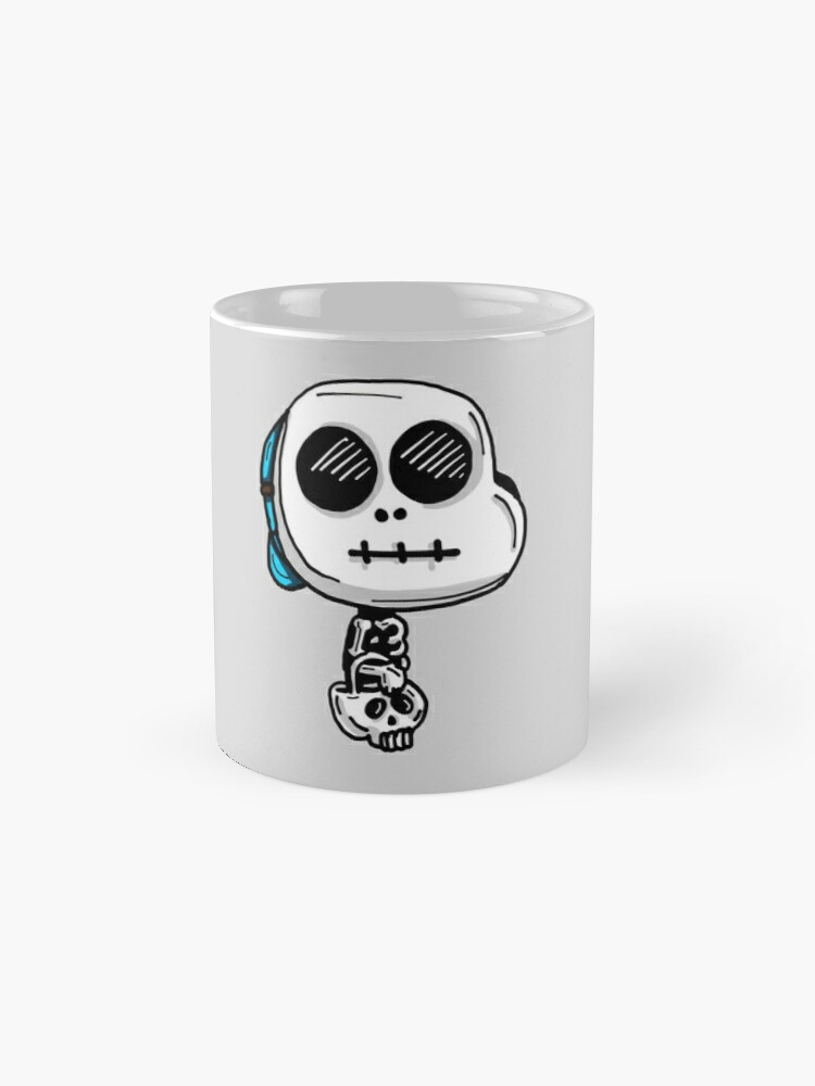 Alternate view of Gumball Watterson from The Amazing World of Gumball™ wearing a Halloween Skeleton Costume Mug