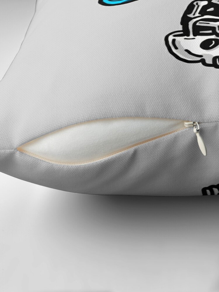 Alternate view of Gumball Watterson from The Amazing World of Gumball™ wearing a Halloween Skeleton Costume Throw Pillow
