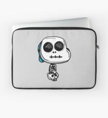 Gumball Watterson from The Amazing World of Gumball™ wearing a Halloween Skeleton Costume Laptop Sleeve