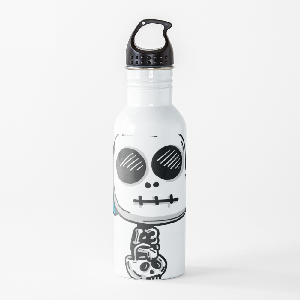Gumball Watterson from The Amazing World of Gumball™ wearing a Halloween Skeleton Costume Water Bottle