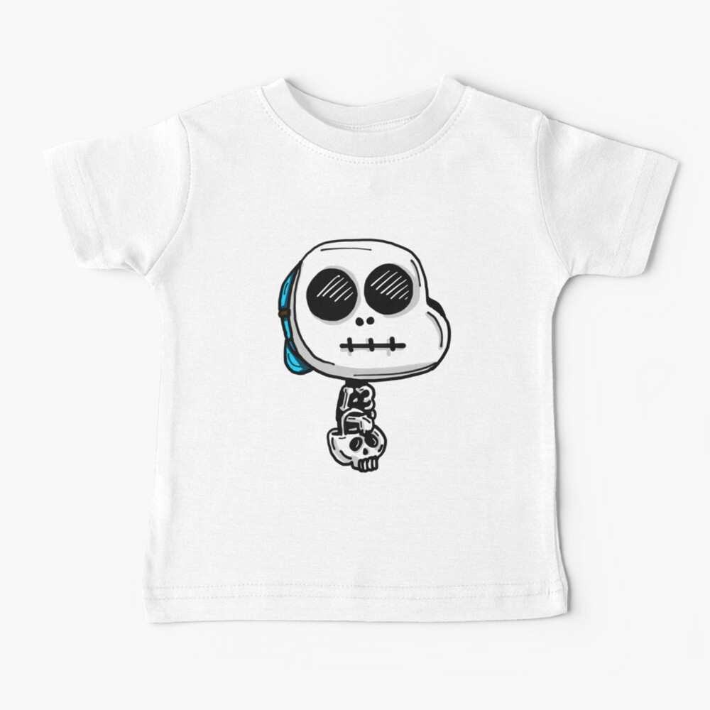 Gumball Watterson from The Amazing World of Gumball™ wearing a Halloween Skeleton Costume Baby T-Shirt