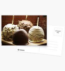 Chocolate Apples Postkarten