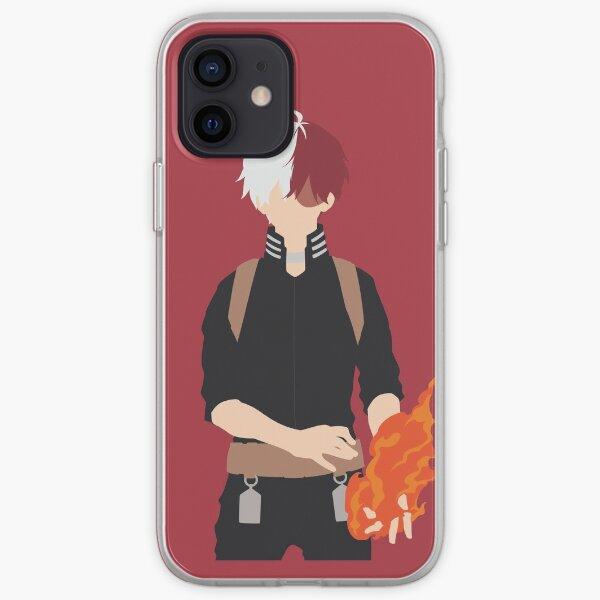 Shouto Todoroki Minimalist iPhone Soft Case