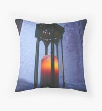 Finnish American Holiday Card Throw Pillow