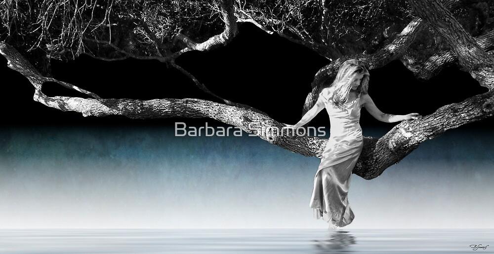 Lake June In Winter by Barbara Simmons