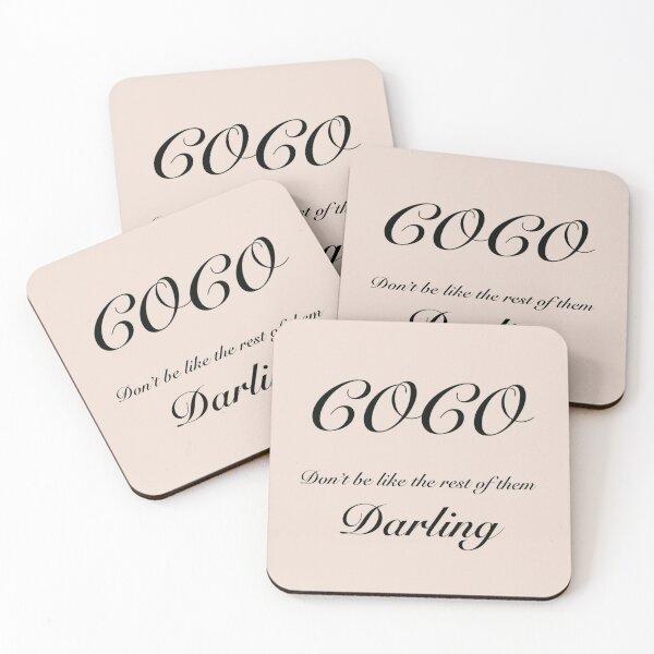 Coco Darling Coasters (Set of 4)