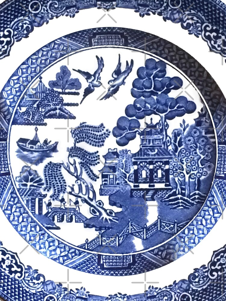 Blue Willow China by MadeByBKG