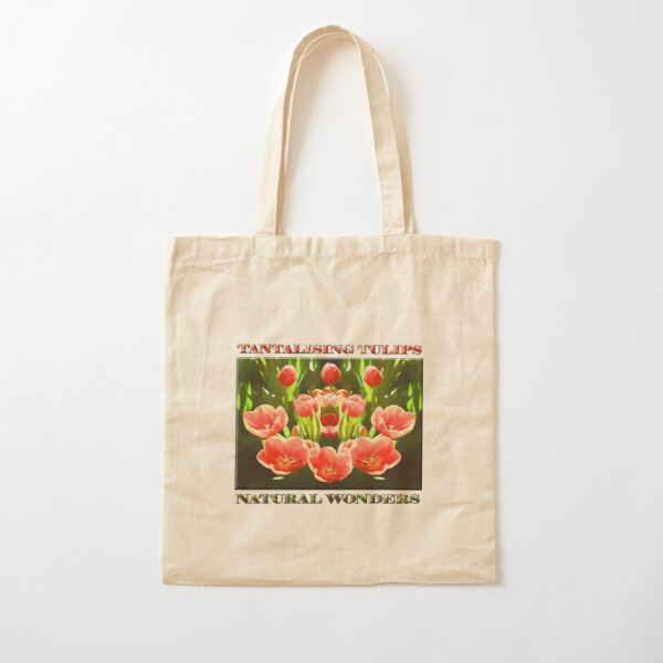 Tulips (digital painting) Cotton Tote Bag