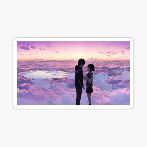 Anime Scenery - Kimi no na wa./ Tu nombre. Pegatina