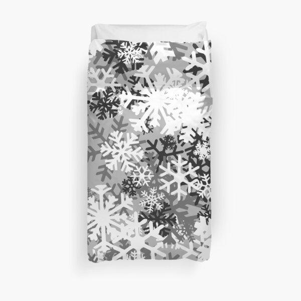 Snowflake Camo Duvet Cover